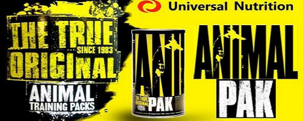 Animal Pak 44 packs by Universal Nutrition banner
