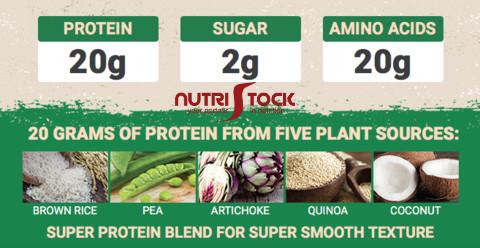Gat Plant Protein proteine vegane