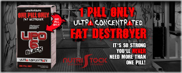 Lipo 6 Black Ultra Concentrate 60 capsule by Nutrex banner