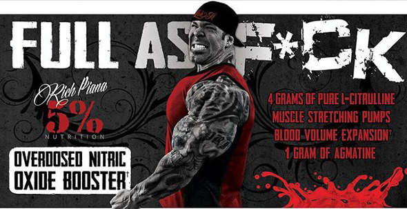 Full As Fuck Nitric Oxide Pre-Workout banner