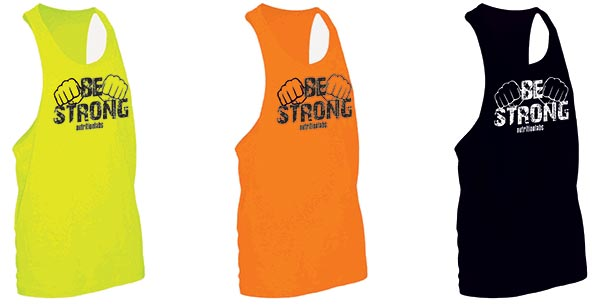 canotte be strong taglie usa in 3 colori