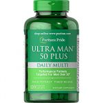 Ultra Man 50 Plus 60cps by Puritan's Pride