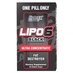 Lipo-6 Black Ultra Concentrate 60cps by Nutrex