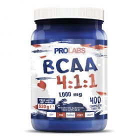 Bcaa 4:1:1 1000mg 400cpr by Prolabs