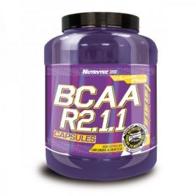 Bcaa R2:1:1 400cps by Nutrytec
