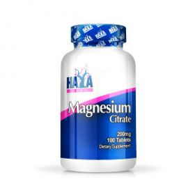 Magnesium Citrate 200mg 100tabs by Haya Labs