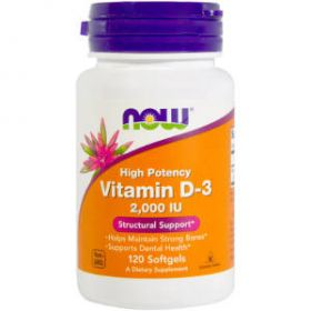 Vitamin D3 2000IU 240cps by Now Foods