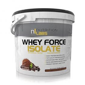 Whey Force Isolate 4kg by Nutrition Labs