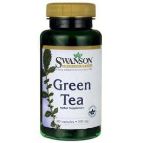 Green Tea 500mg 100 capsule Swanson