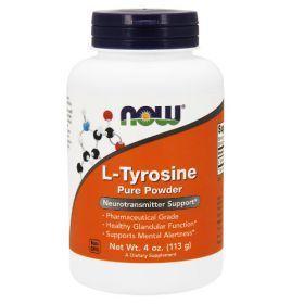 L-Tyrosine Powder 113g Now Foods