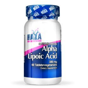 Alpha Lipoic Acid Time Release 600mg 60cps by Haya Labs