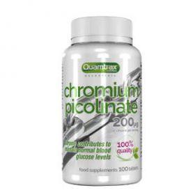 Cromo Picolinato 200mcg 100cps Quamtrax Nutrition