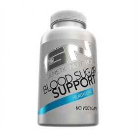Blood Sugar Support 60cps by Genetic Nutrition