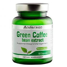 Green Coffee Extract 60cps Anderson Research
