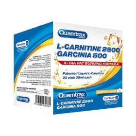 L-Carnitine 2500 + Garcinia 20 fiali by Quamtrax Nutrition