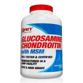 Glucosamine Chondroitin MSM 180tabs by SAN Nutrition