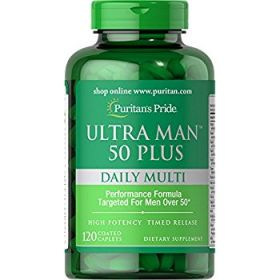 Ultra Man 50 Plus 60cps by Puritan's Pride