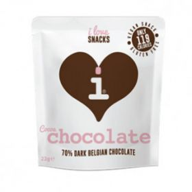 70% Cocoa Dark Belgian Chocolate 22g
