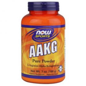 AAKG Powder 198g by Now Foods