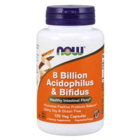 Now Foods Acidophilus e Bifidus 8 Bilion Now Foods