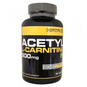 Acetyl L-Carnitina 500mg 120 cps
