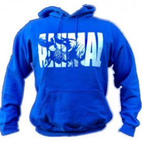 Animal Fury Hooded Sweater Blue