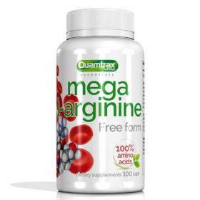 Mega L-Arginine 100 caps Quamtrax Nutrition