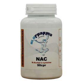 NAC Acetyl Cisteina 90cpr Blu Pharma