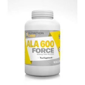 ALA 600 Force Time Release 600mg 60tab Nutrition Labs