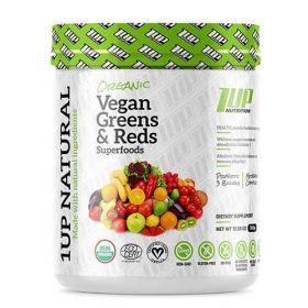 Organic Vegan Greens & Reds Superfoods 300g 1UP Nutrition