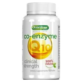 Co-Enzyme Q10 30mg 60caps Quamtrax Nutrition