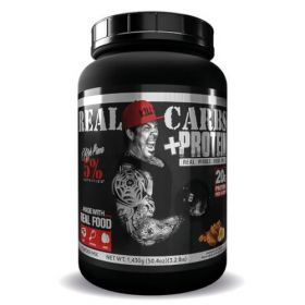 Real Carbs + Protein 1430g Rich Piana 5% Nutrition