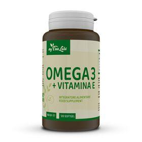 Omega 3 + Vitamina E 120 cps