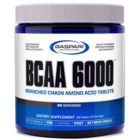 Bcaa 6000 180 cpr by Gaspari Nutrition
