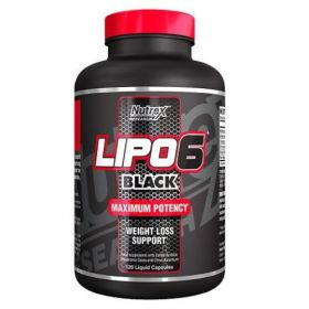 Lipo 6 Black 120cps by Nutrex Research