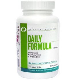 Universal Daily Formula 100cpr