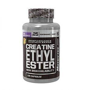 Creatine Ethyl Ester 90cps Nutrytec Sport