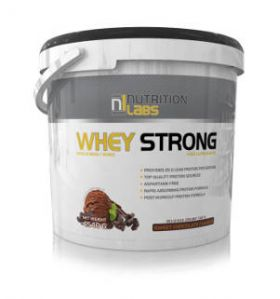 Whey Strong 4,5Kg by Nutrition Labs