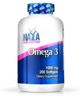 Omega-3 1000 200 softgels Haya Labs