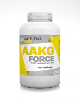 AAKG Force 1000 180cps by Nutrition Labs